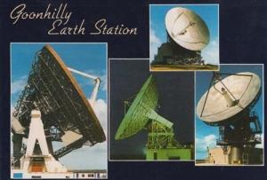 Goonhilly Earth Station Cornwall Space Satellite Postcard