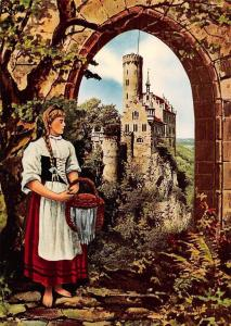 Schwaebische Alb 's Baerbele von Lichtenstein Schloss