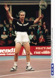 John McEnroe London Honda Masters Championships Wembley Tennis Press Photo