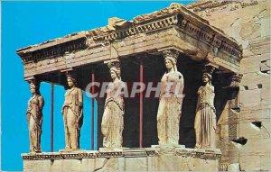 Postcard Modern Athens The Caryatids