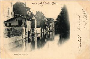 CPA DOLE Canal des Tanneurs (446628)
