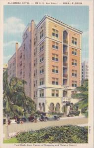 Florida Miami The Alhambra Hotel 1954 Curteich