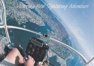 Enjoy the experience of a lifetime with an aerial overview of Victoria & Gulf...