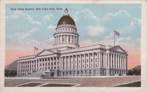 Utah Salt Lake City Utah State Capitol