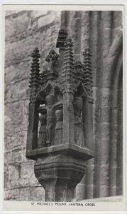 Cornwall; St Michael's Mount, Lantern Cross RP PPC By Harvey Barton, Unposted