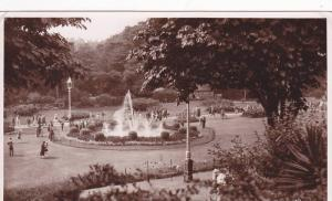 RP, The Central Gardens, Waterfountain, Bournemouth (Dorset), England, UK, PU...