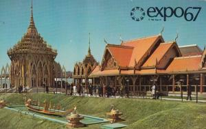 MONTREAL , Quebec, Canada, EXPO67 ; Pavilion of Thailand