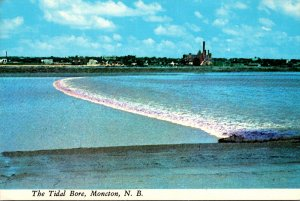Canada New Brunswick Moncton The Tidal Bore