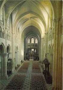 BR23983 Interieur de la cathedrale Sens   france