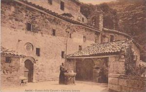 Italy Assisi Eremo delle Carceri Chiostro interno