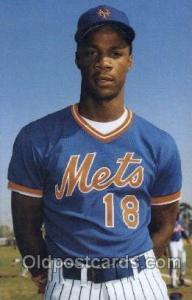 Darryl Strawberry Base Ball, Baseball Real Photo Images, Postcard Postcards  ...