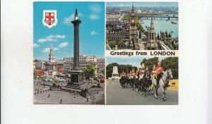 BF29699 london types horses  UK  front/back image