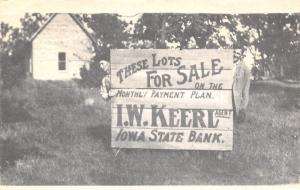 Fort Bloomfield(!) Iowa~1976 Bicentennial PC~Loper Sign Company Hoax~Fickleliver