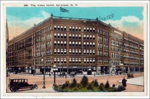 Yates Hotel, Syracuse NY