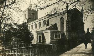 UK - England, Rickmansworth, St. Mary's   *RPPC