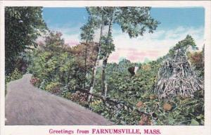 Massachusetts Greetings From Farnumsville