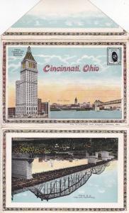 CINCINNATI , Ohio , 1910s ; Folder Postcard