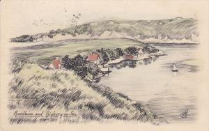 BIGBURY, Devon, England, 1900-1910´s; Bantham And Bigbury On Sea