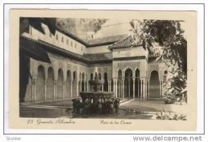 RP  Granada Alhambra,Spain PU-1928  Patio de los Leones