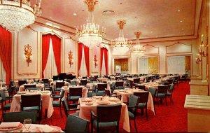 West Virginia White Sulphur Springs Crystal Dining Room