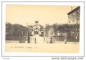 SAINT-DENIS, France, 00-10s L'hopital