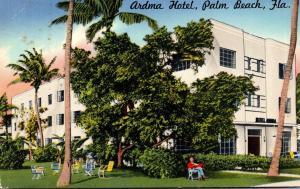 Florida Palm Beach The Ardma Hotel 1969