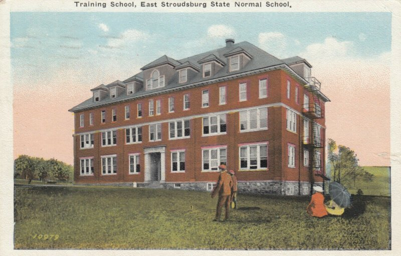 EAST STROUDSBURG , Pennsylvania , PU-1923; Training School, State Normal School