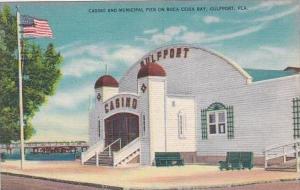 Florida Gulfport Casino And Municipal Pier On Boca Ceiga Bay