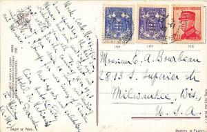 Monco Salon De Paris Postally Used Stamp Postmark Postcard