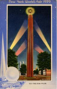 NY - New York World's Fair, 1939. The Star Pylon