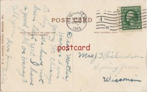 1915 MILWAUKEE WI Stone Stairway, Lake Park, publ M.L. Annenberg, to Richardson