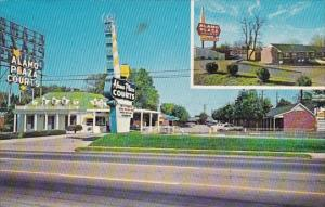 Alamo Plaza Hotel Courts Nashville Tennessee 1969