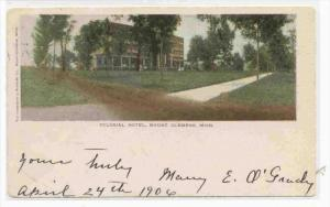 Colonial Hotel, Mt Clemens, Michigan, PU-1906
