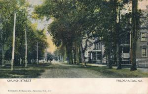 Church Street Residential Area - Fredericton NB, New Brunswick, Canada - DB