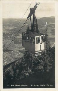Austria Rax 2005m Seilbahn cableway telpher photo postcard