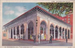 Outdoor Post Office Saint Peterburg Florida 1935