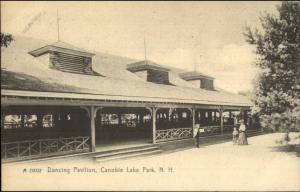 Canobie Lake Park NH Dancing Pavilion c1905 Postcard