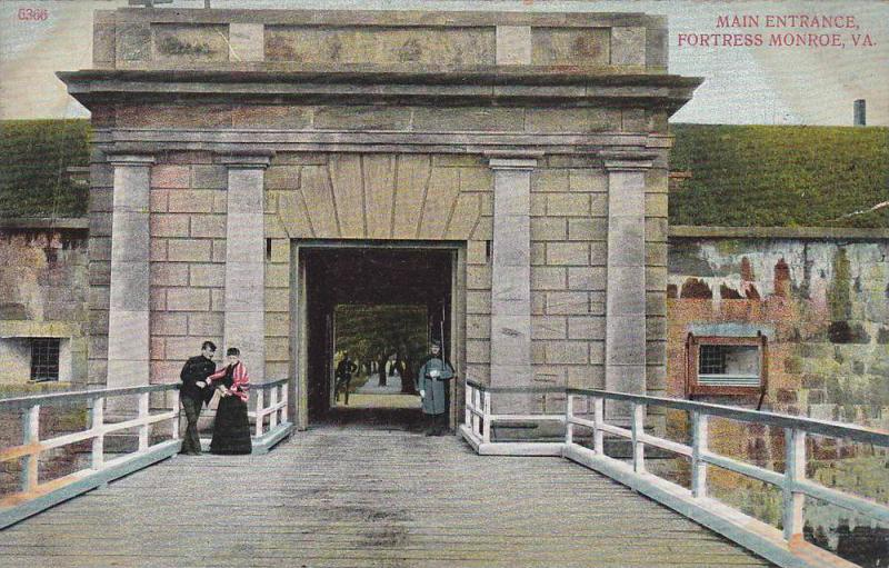 Main Entrance , Fortress Monroe , Virginia , 00-10s