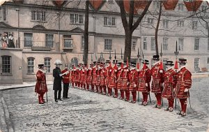 Roll Call, Tower of London London United Kingdom, Great Britain, England Unused