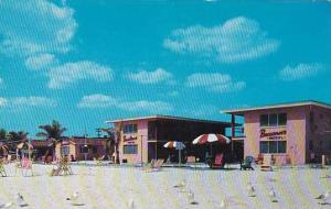 Florida Saint Petersburg Buccaneer Motel & Restaurant 1957