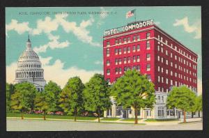 Hotel Commodore Union Station Washington DC unused c1930s