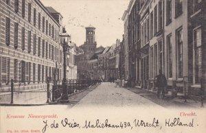UTRECHT , Netherlands , PU-1905 : Kromme Nieuwegracht