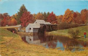 Old Mill Mt Pleasant Michigan Central College pm 1959 Postcard