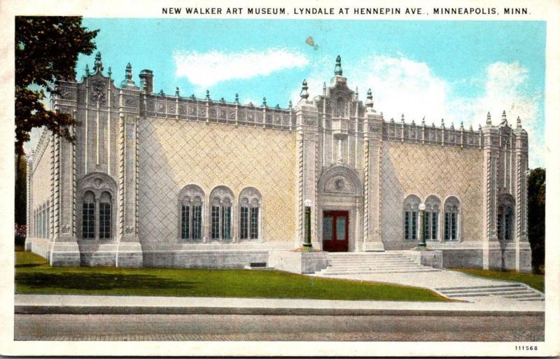 New Walker Art Museum Lyndale At Hennepin Avenue Minneapolis Minnesota Curteich