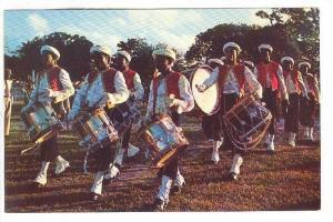 Fife & Drummers, Zouave Uniform, Garrison Savannah - St. Michael, Barbados, B...