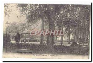 Brive Old Postcard The Guierle