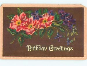 Divided-Back BEAUTIFUL FLOWERS SCENE Great Postcard AA2466