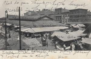 BALTIMORE, Maryland; 1907 ; Lexington Market