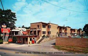 Arkansas Hot Springs The Perry Plaza Motel 1964
