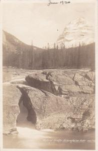 RP, FIELD, BC, Canada , 00-10s; Natural arch Bridge , Kickinghorse River